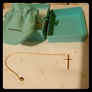 Tiffany's Cross Necklace